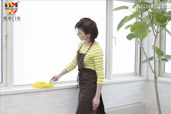 断桥铝门窗清洁保养